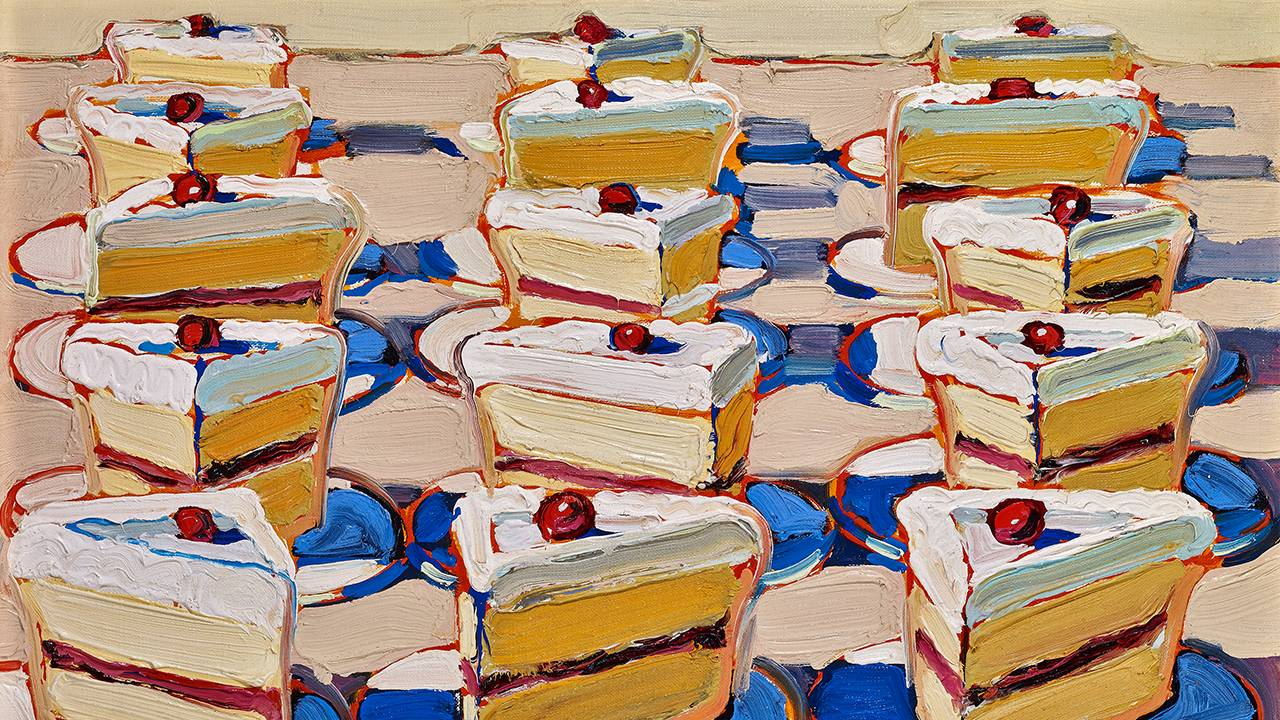 Artist Wayne Thiebaud at 100