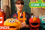 Feist with Sesame Street characters