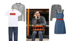 What Would Mister Rogers Wear? Ideas for a Cardigan-Inspired Spring Wardrobe