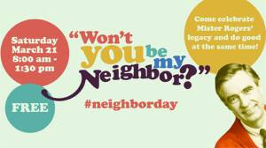 Won't You Be Our Neighbor? Celebrate Mister Rogers with Us!