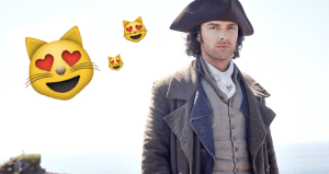 "Is It Hot In Here Or Are You Just Watching ""Poldark""?"