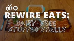 Rewire Eats: Dairy-free Spinach Stuffed Shells, the Delicious & Crafty Im-pasta