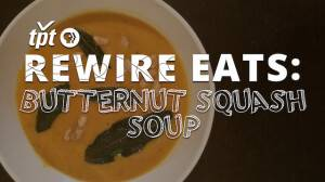 Rewire Eats: Just In Time For Fall—Sweet, Smooth Squash Soup
