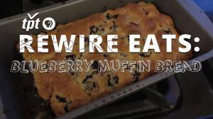 Rewire Eats: Blueberry Muffin Bread