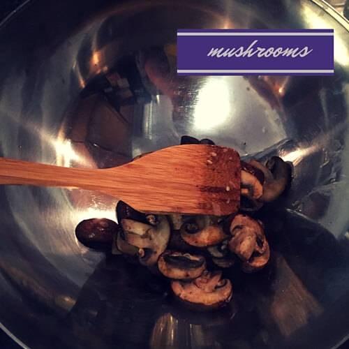 Meatloaf Mushrooms
