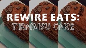 Rewire Eats: Triumphant Tiramisu Cake via 'The Great British Baking Show'