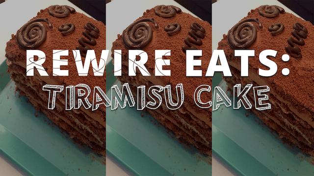 Tiramisu Cake pbs rewire