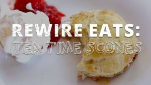 Rewire Eats: Tea Time Scones Inspired by 'The Great British Baking Show'