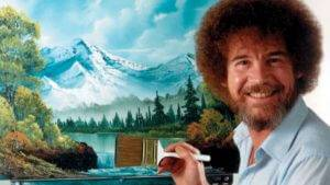 Happy Little Accidents: Writing Bob Ross' Story