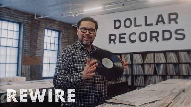 Vinyl Records pbs rewire