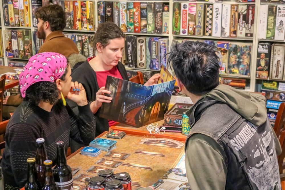 rewire pbs board games friendly local game store