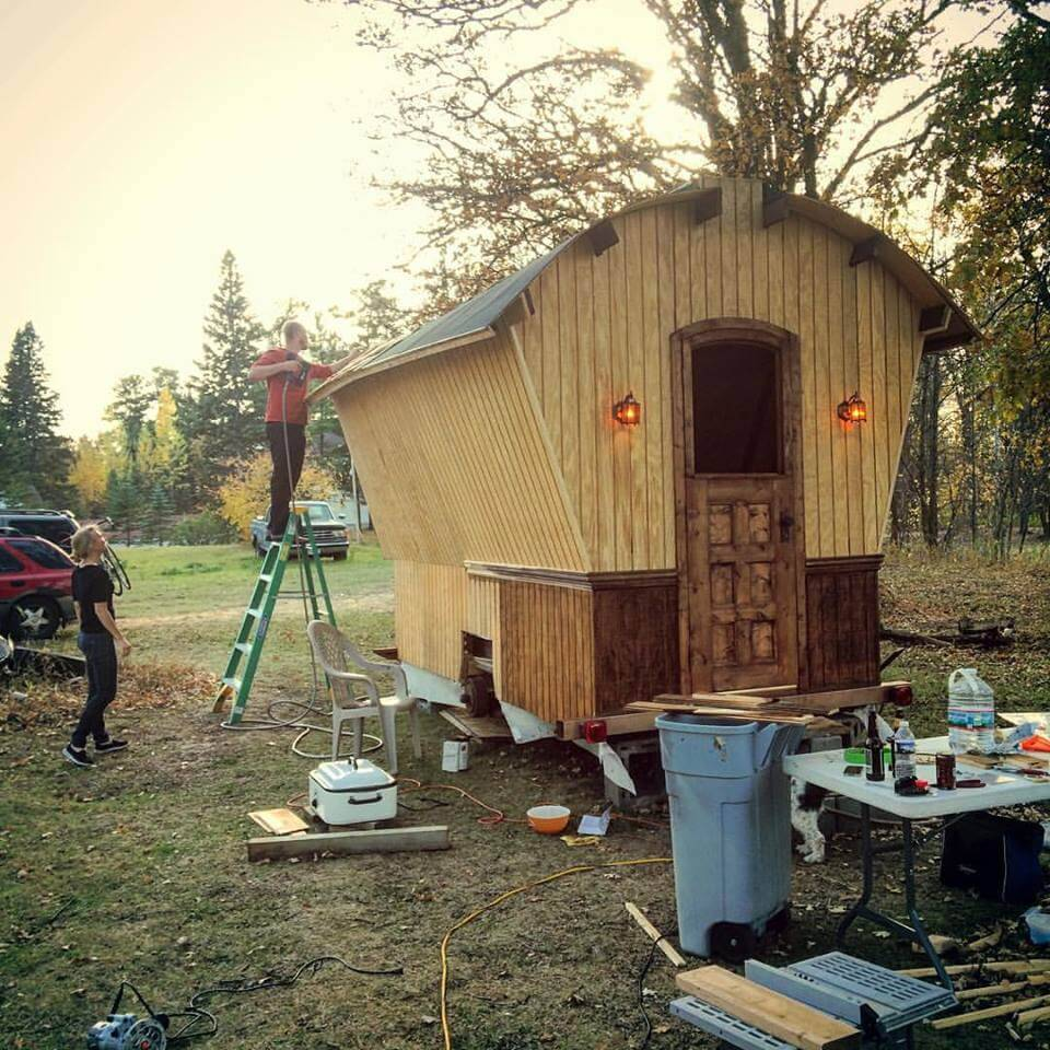 Yes you can build your own tiny house rewire for Building a house in minnesota