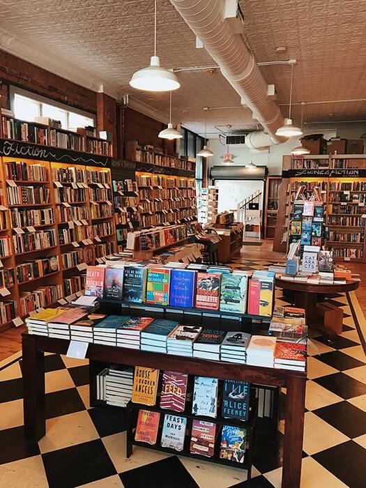 Interior Literati book shop Indie Book Stores pbs rewire