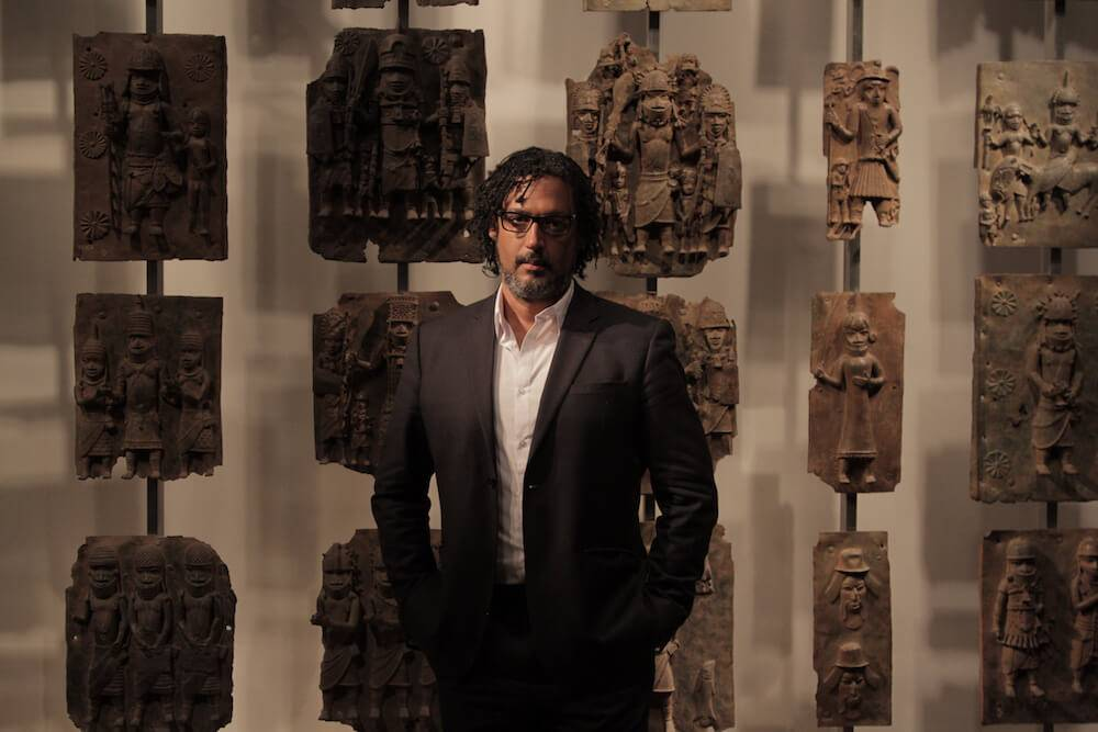 "David Olusoga, one of the hosts of ""Civilizations."" Sarah Urist Green pbs rewire"
