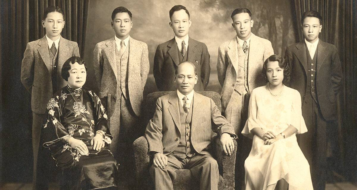 Lim Ben and Alice Wong family. Rewire PBS Our Future Chinese Exclusion