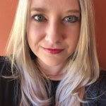 Headshot of writer Heather Adams.