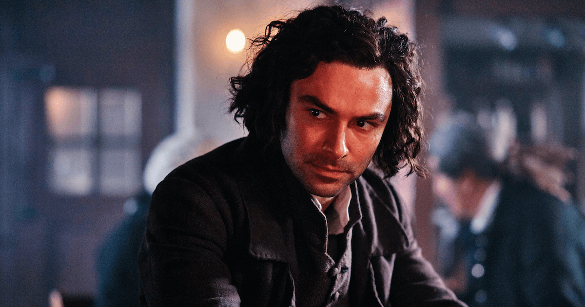 Ross Poldark from season four of Poldark. Poldark Creator pbs rewire