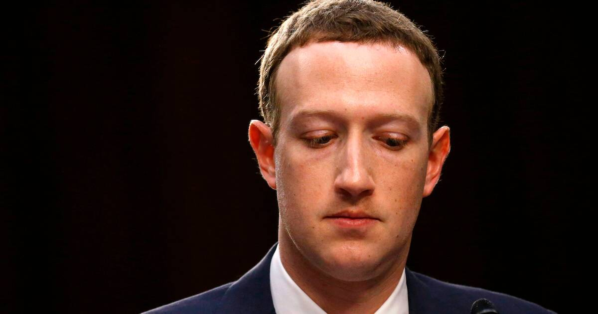 Facebook CEO Mark Zuckerberg listens while testifying before a joint Senate Judiciary and Commerce Committees hearing regarding the companyís use and protection of user data, on Capitol Hill in Washington, D.C. Account Rewire PBS