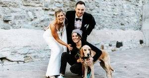 'Dog of Honor?': How More Couples Are Including Their Pets In Their Wedding