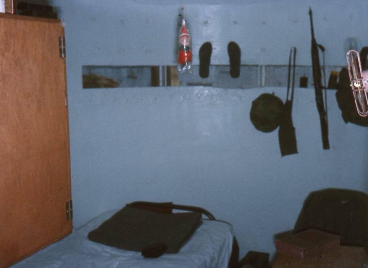 Soldier's quarters.