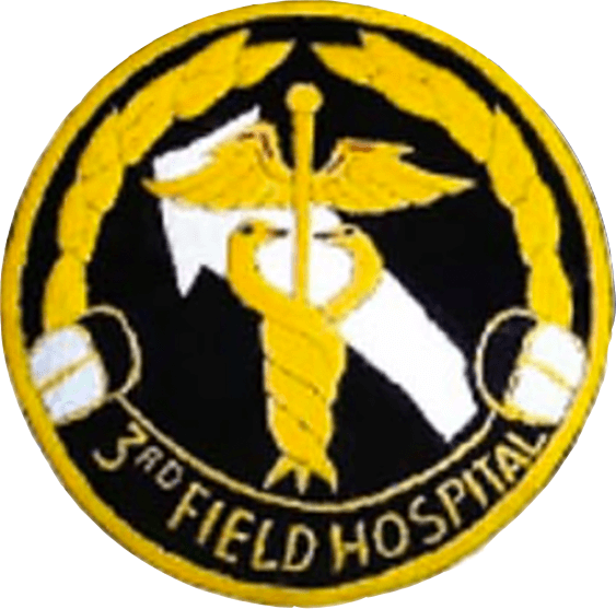 3rd Field Hospital Patch