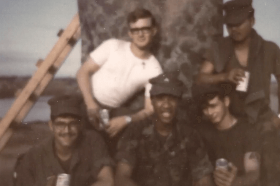 Group of Vietnam soldiers