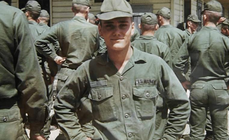 Vietnam veteran photo