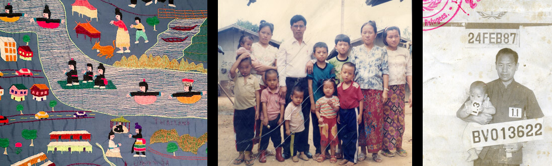 Collage of Hmong photos
